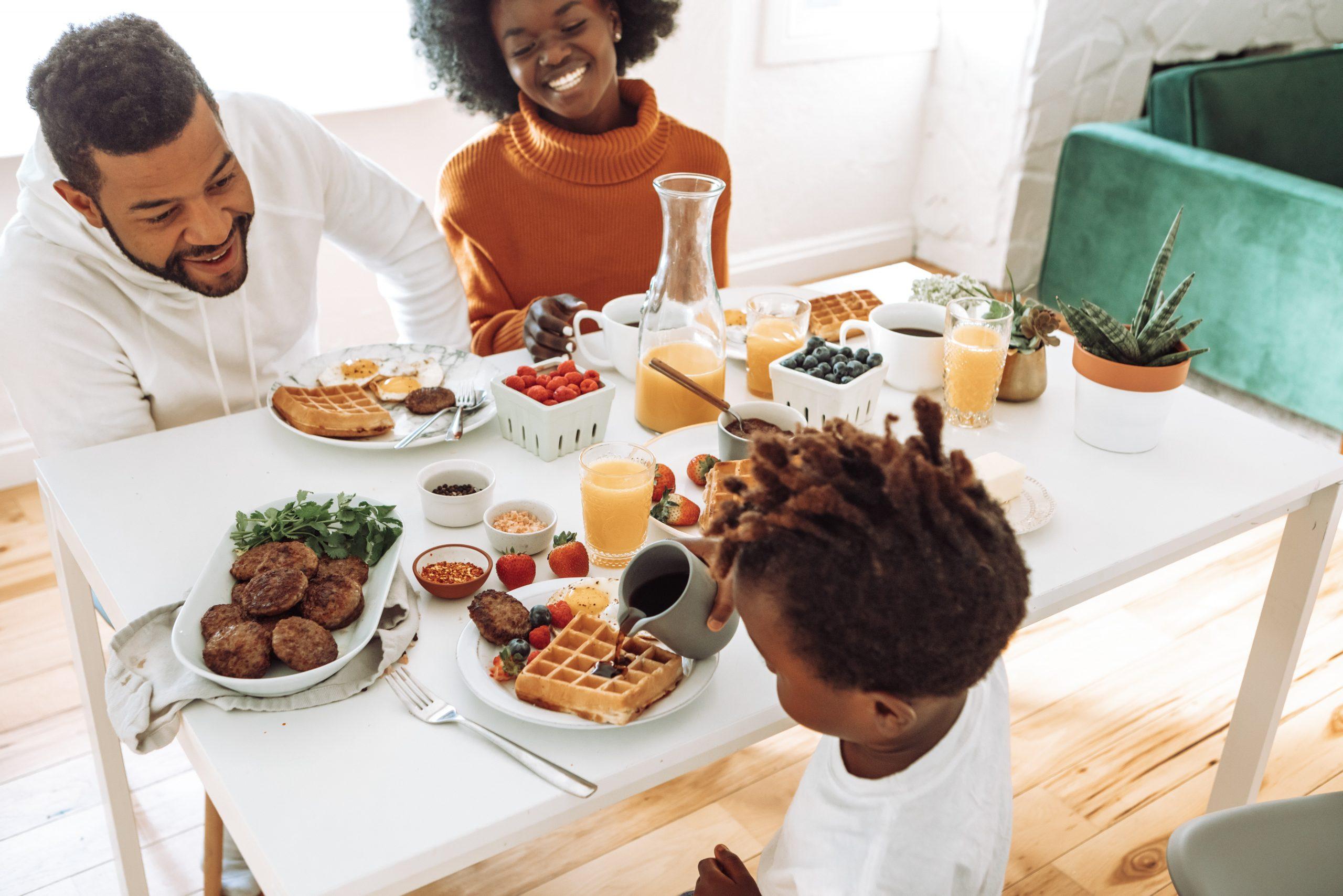 غذای سبک خانوادگی